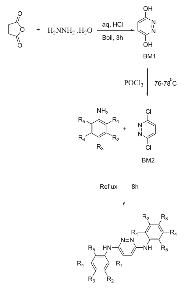 General synthetic scheme